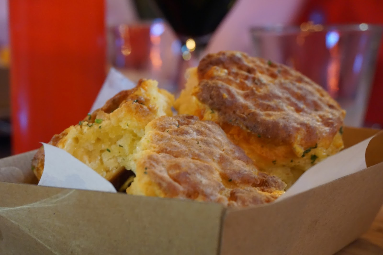 Biscuits at The Curious Squire, North Adelaide
