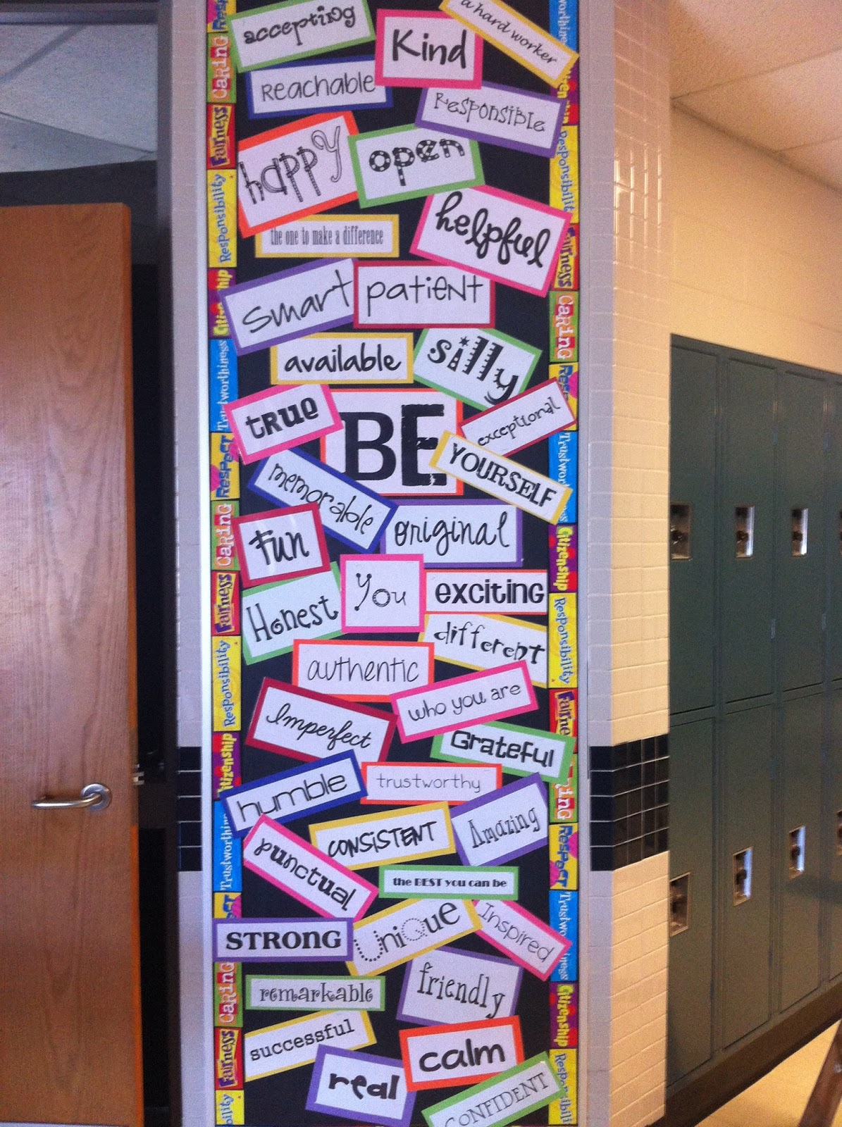 teaching is forever bulletin board decorating