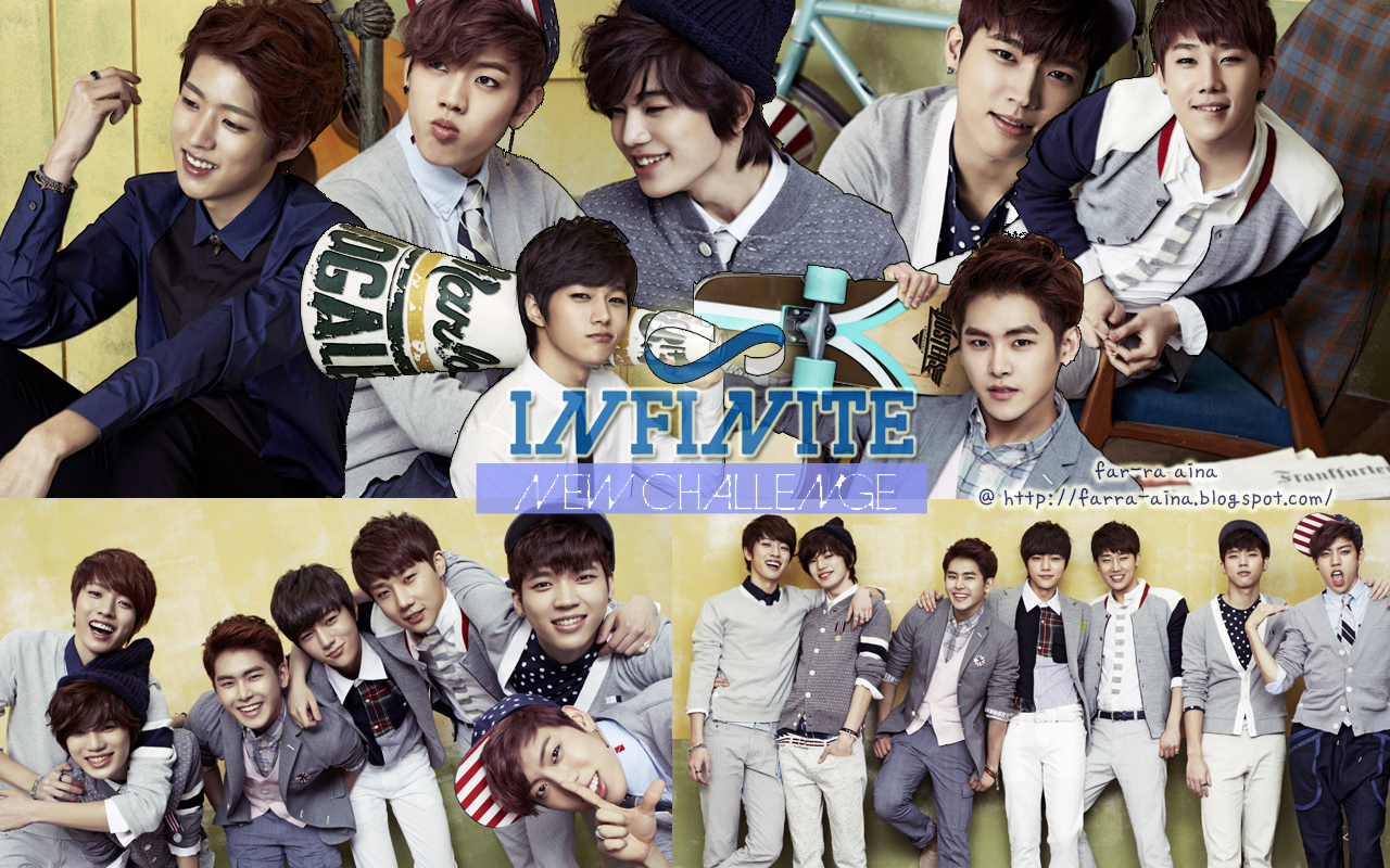 pop lover ^^: INFINITE  New Challenge WALLPAPER