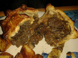 Paul's Pies Venison & Mushroom