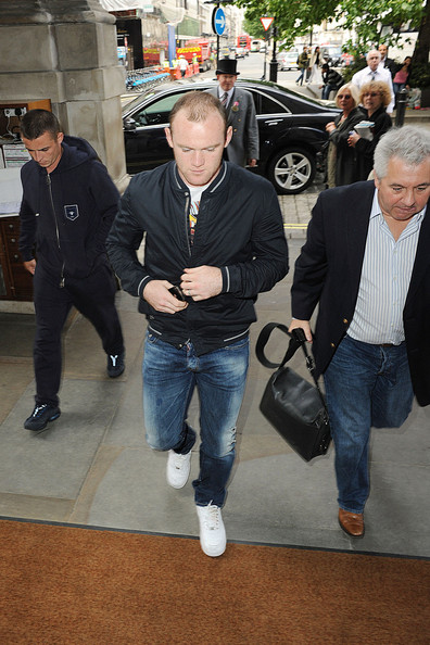 Wayne Rooney Jeans Upscale Fashion Dior Homme Cotton Jacket
