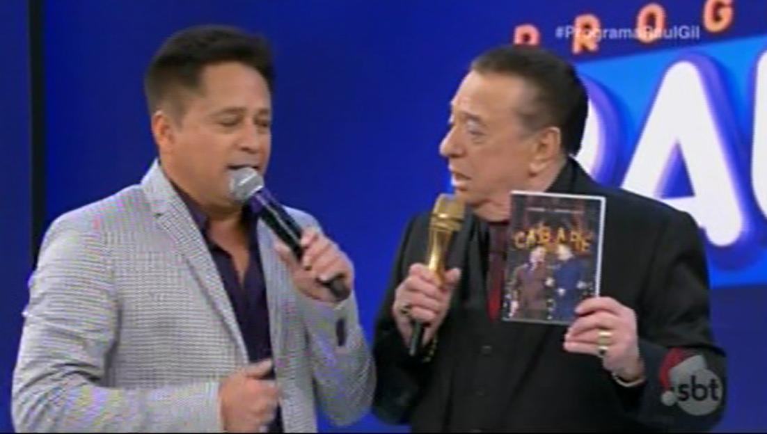 CABARE Leonardo Eduardo Costa no programa Raul Gil 24/12 2016