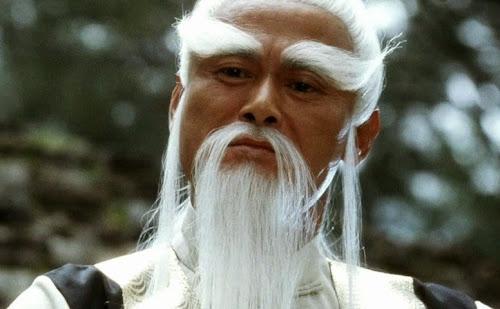 Chia-Hui Liu como Pai Mei, o mestre de Uma Thurman em Kill Bill, Volume 2