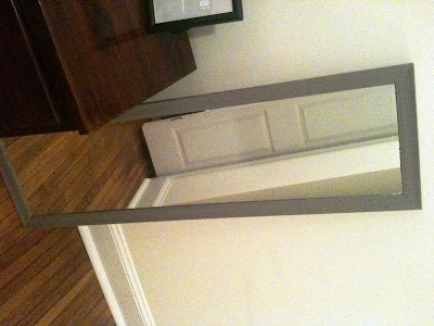 paint mirror, ace paint, paint furniture, how to paint, diy paint, makeover, paint makeover, paint redo, redo paint, grey color, grey paint, bedroom makeover, paint bedroom.