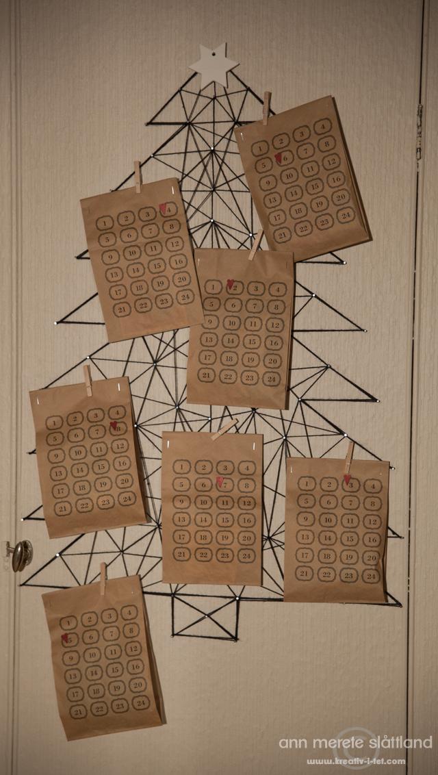 rets adventskalender diy kreativ i tet. Black Bedroom Furniture Sets. Home Design Ideas