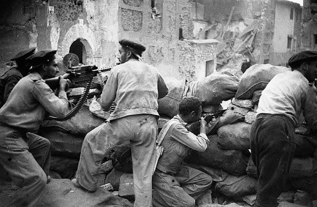 Barricada en la Guerra Civil Española