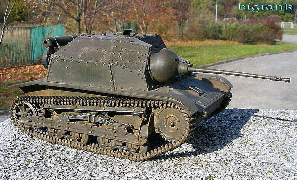 TKS tankette model