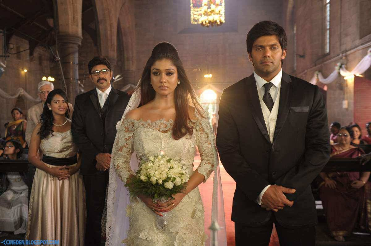 Arya, Sathyaraj and Nayantara in Raja Rani (2013) Tamil Movie Stills - CineDen