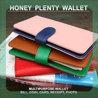 Useful MultiPurpose Honey Plenty Wallet Coin PaperMoney