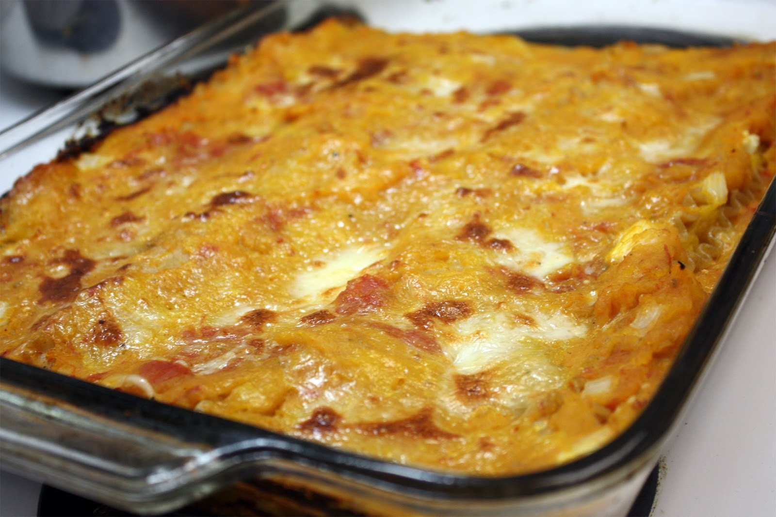 Food.Love.Happiness: Butternut Squash Lasagna