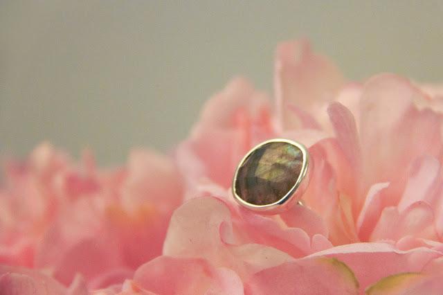 Monica Vinader jewellery labradorite ring