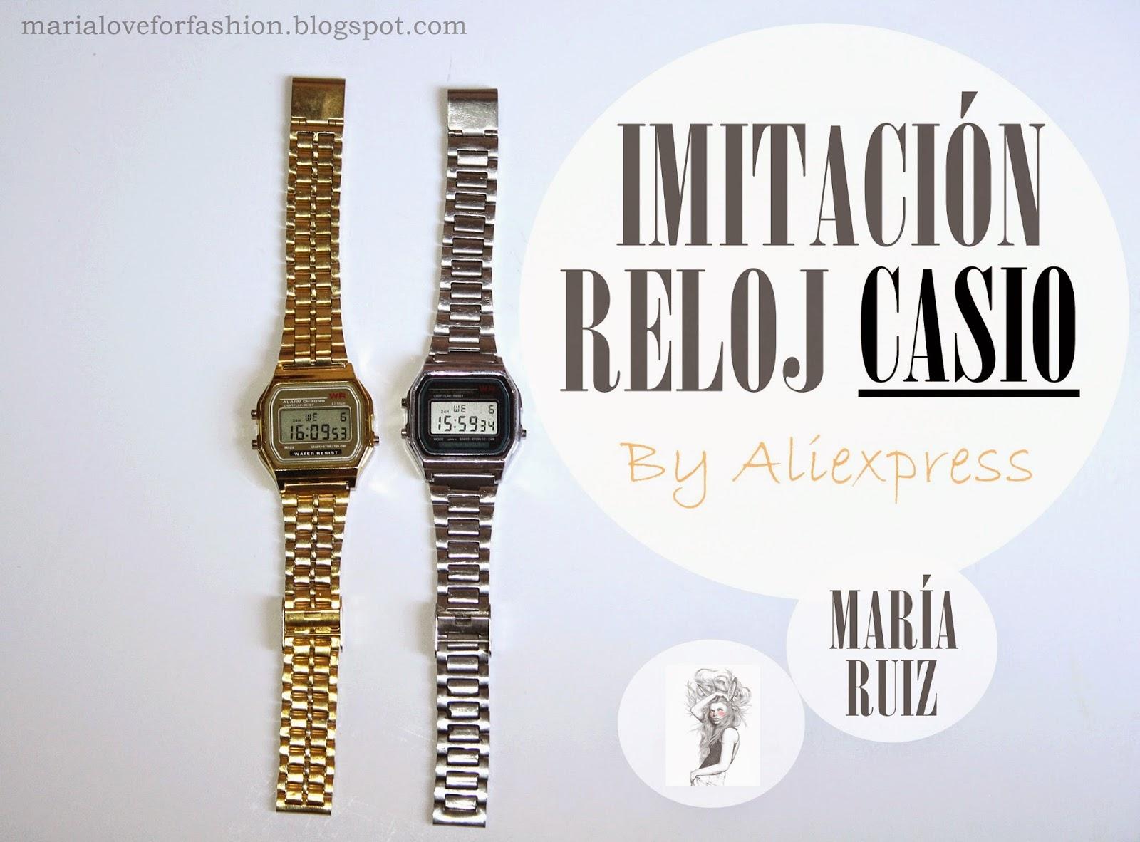 Relojes Casio Imitaciones