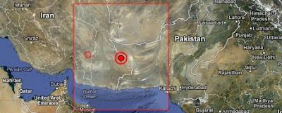 TERREMOTO DE 7,8 GRADOS CON EPICENTRO EN FRONTERA IRAN-PAKISTAN - 16 DE ABRIL 2013