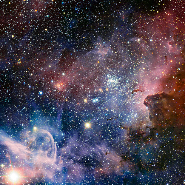 The Carina Nebula as seen by the VLT in Infrared