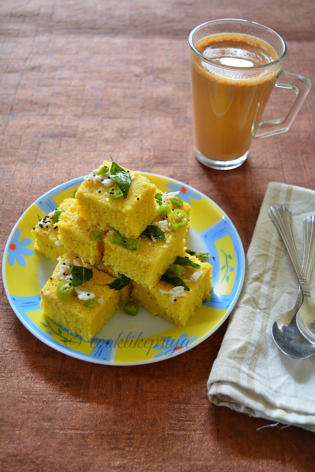 Khaman Instant Dhokla Recipe