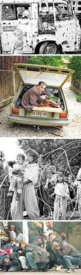 הקרבות, הפליטים והאימה בסרייבו ובסרברניצה בשנים 1992-1996  תצלומים: גטי אימג'ס ו-AFP