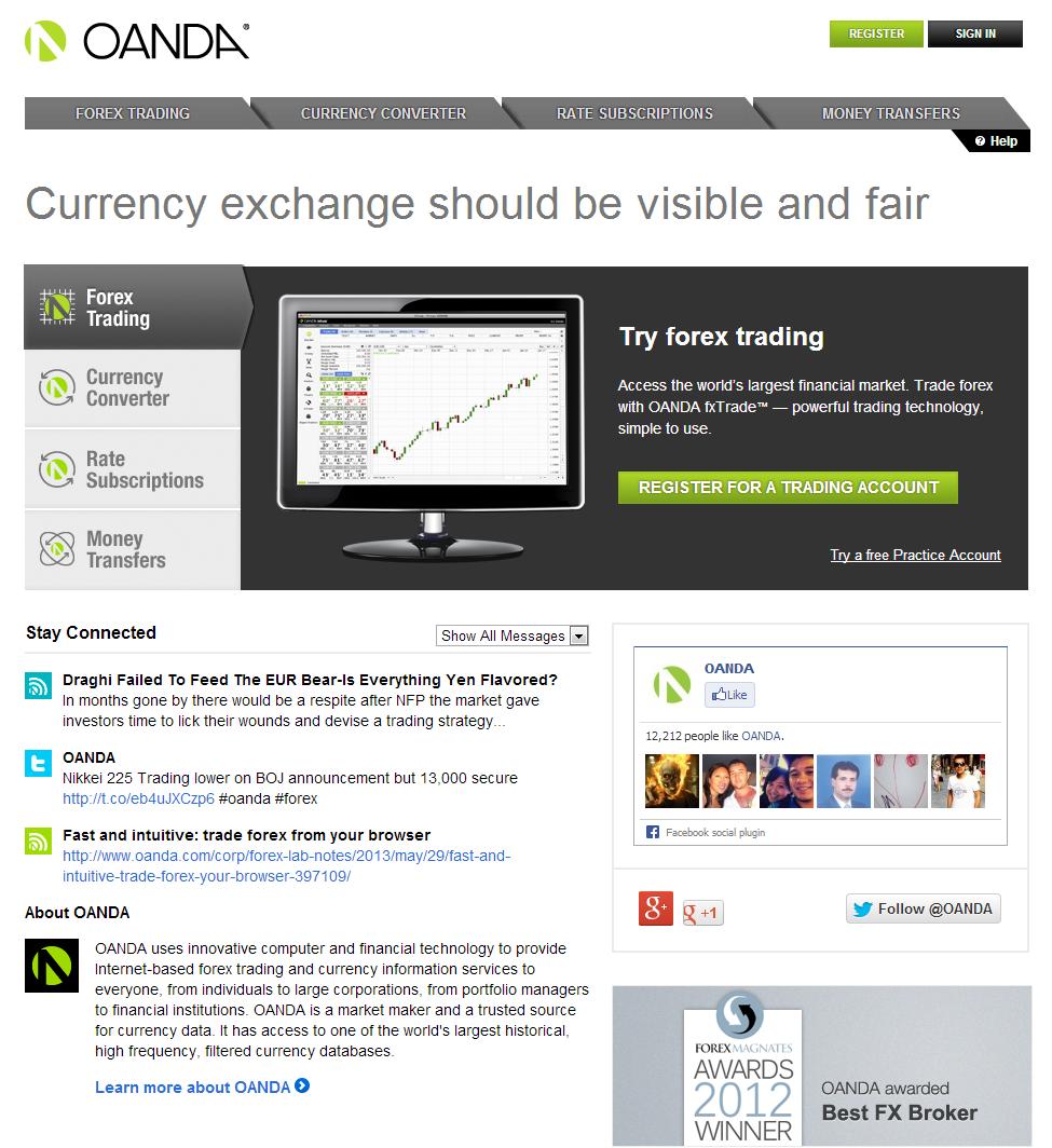 Servizi di trading online