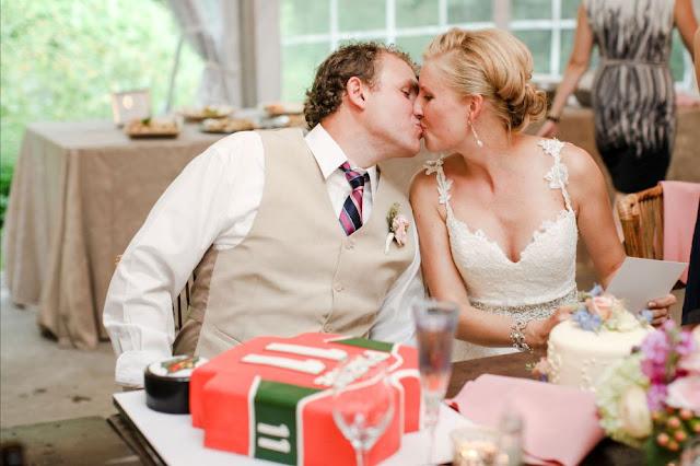 Minnesota Wedding Groom's Cake