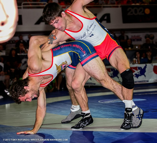 Wrestlers Hairy Armpits Competing