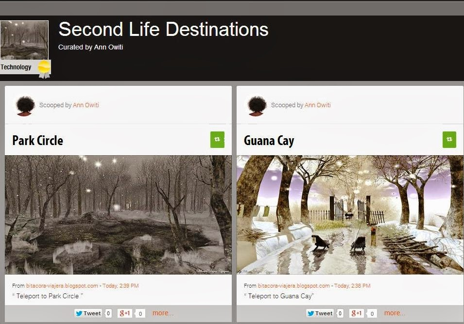 See Where To Visit in Second Life