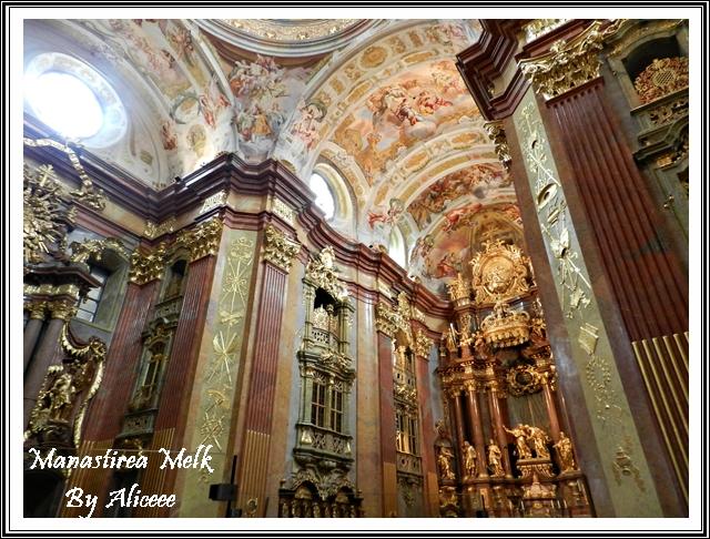 Manastirea-melk-austria-zona-wahau-biserica-interior