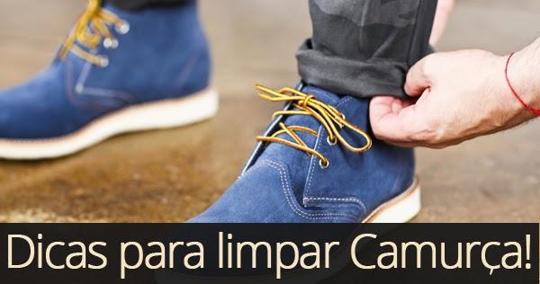 Tem Na Web - Como limpar Sapato ou Tênis de Camurça, Dicas!