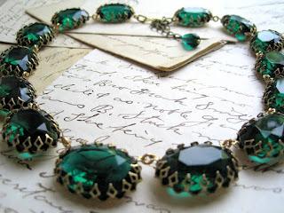 sacred cake, emerald collet, jennifer valentine, etsy, vintage collet