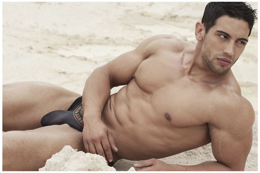 Displaying A Tremendous Physical Herculean And Fascinating Virility This Spanish Male Model Is Sheer Perfection
