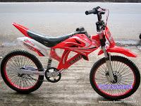 Sepeda BMX Vario Shogun Motocross 20 Inci