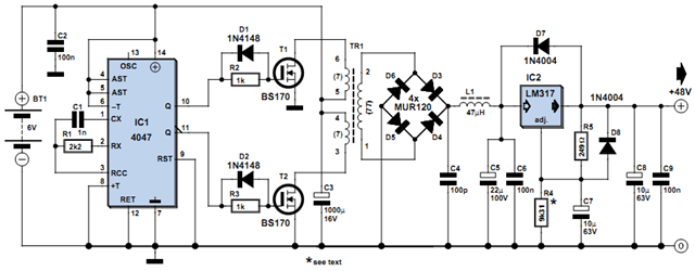 Batteries Circuit Diagram