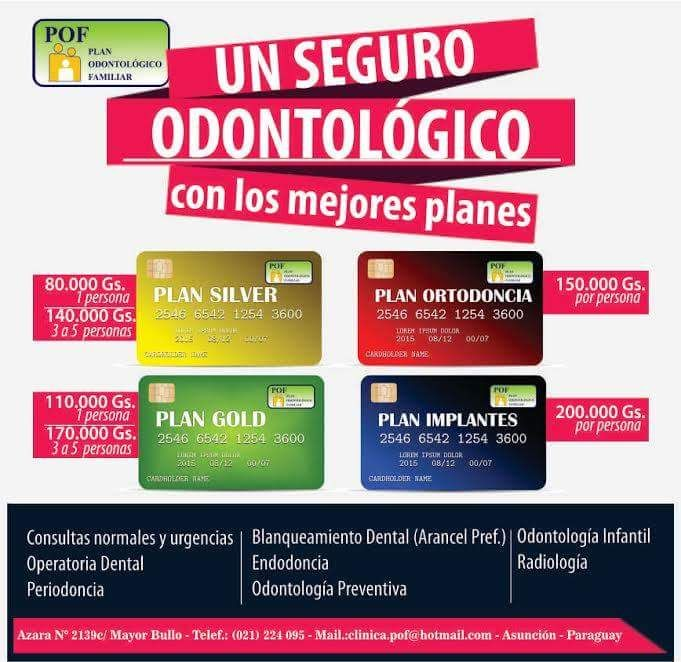 Plan Odontologico Familiar