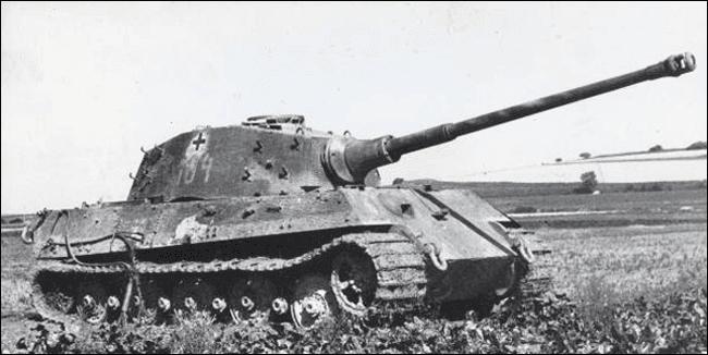 Fotowow тяжелый танк panzerkfwagen vi ausf b tiger ii
