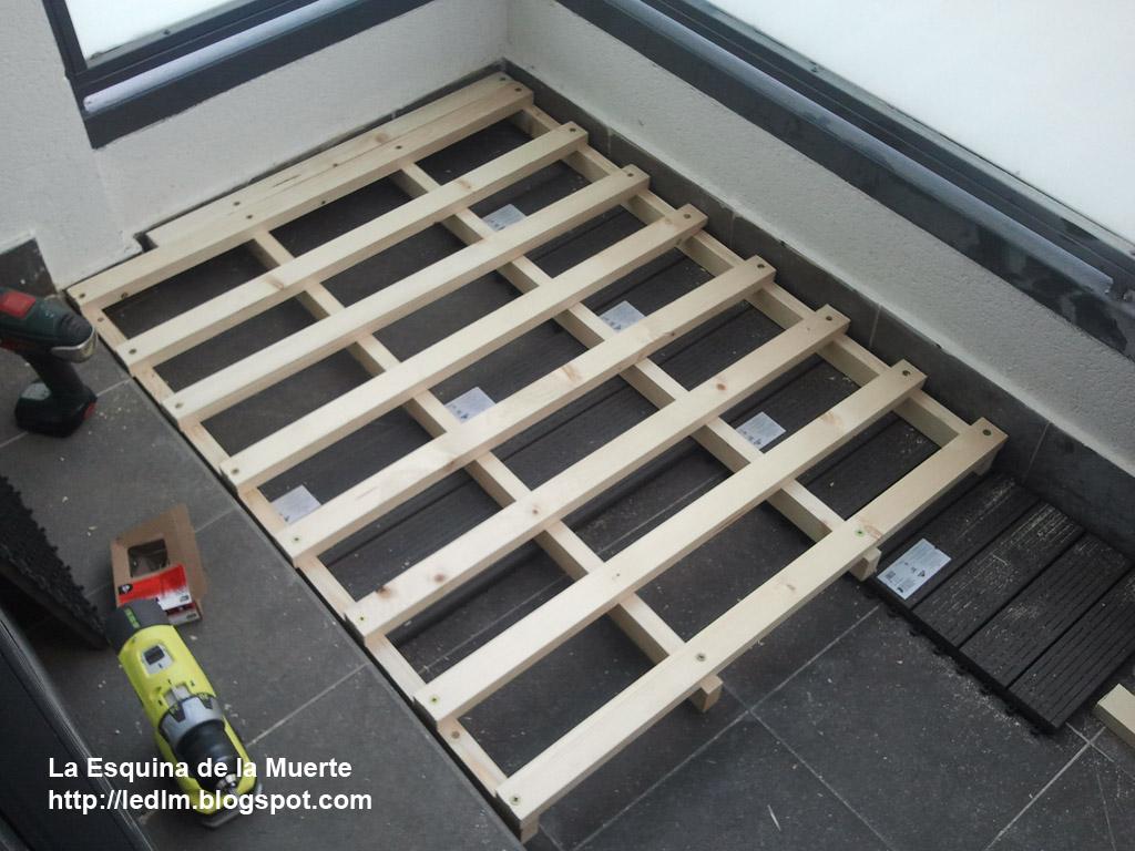 La esquina de la muerte proyectos de verano nivelando - Suelos para terrazas exteriores sin obra ...