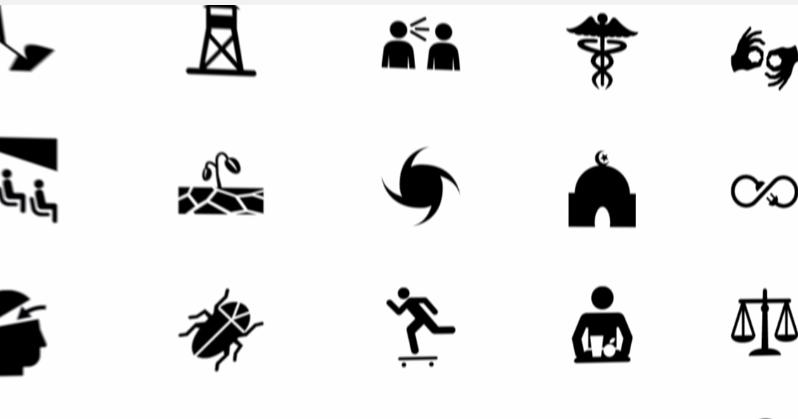 十萬 icon 圖示免費下載,傳神的設計與簡報符號圖案
