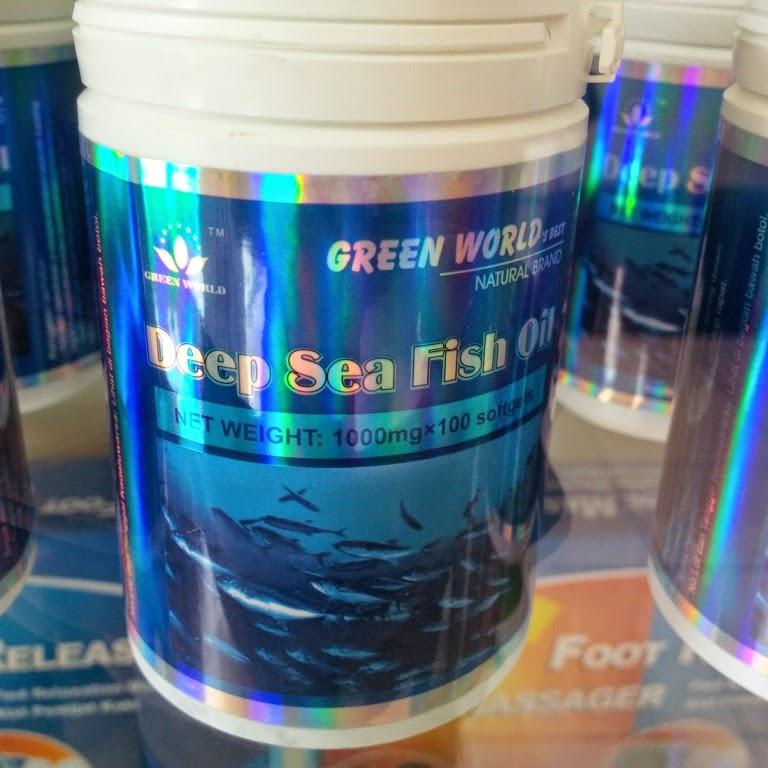 jual obat herbal penurun kolesterol jahat deep sea fish oil