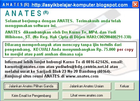 download analisis butir soal excel