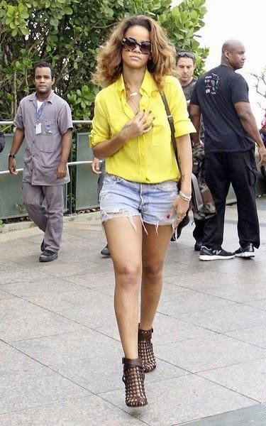 แฟชั่นไอคอน Rihanna