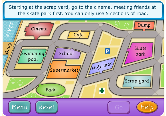 http://www.funenglishgames.com/readinggames/directions.html