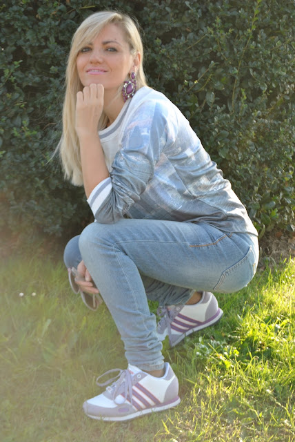 scarpe da tennis adidas outfit scarpe da tennis adidas come abbinare le scarpe da tennis adidas mariafelicia magno fashion blogger color block by felym fashion blogger italiane fashion blogger bergamo fashion blogger milano blog di moda blogger bionde blonde hair blonde girls blondie fall outfit