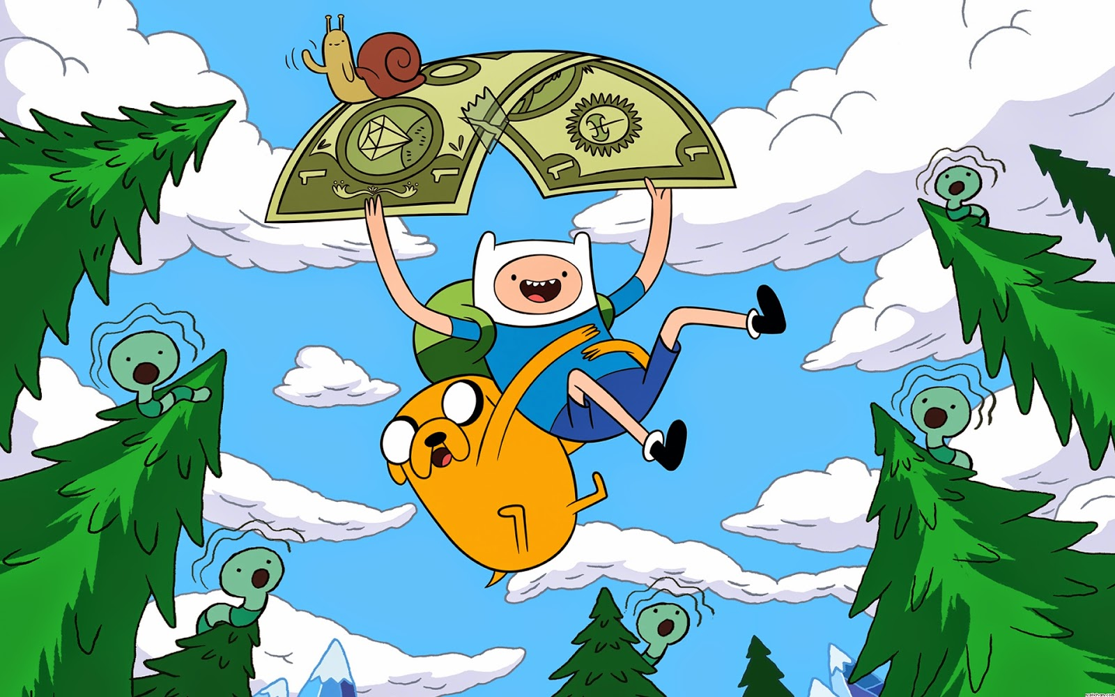 Free coloring pages adventure time - Adventure Time Wallpapers