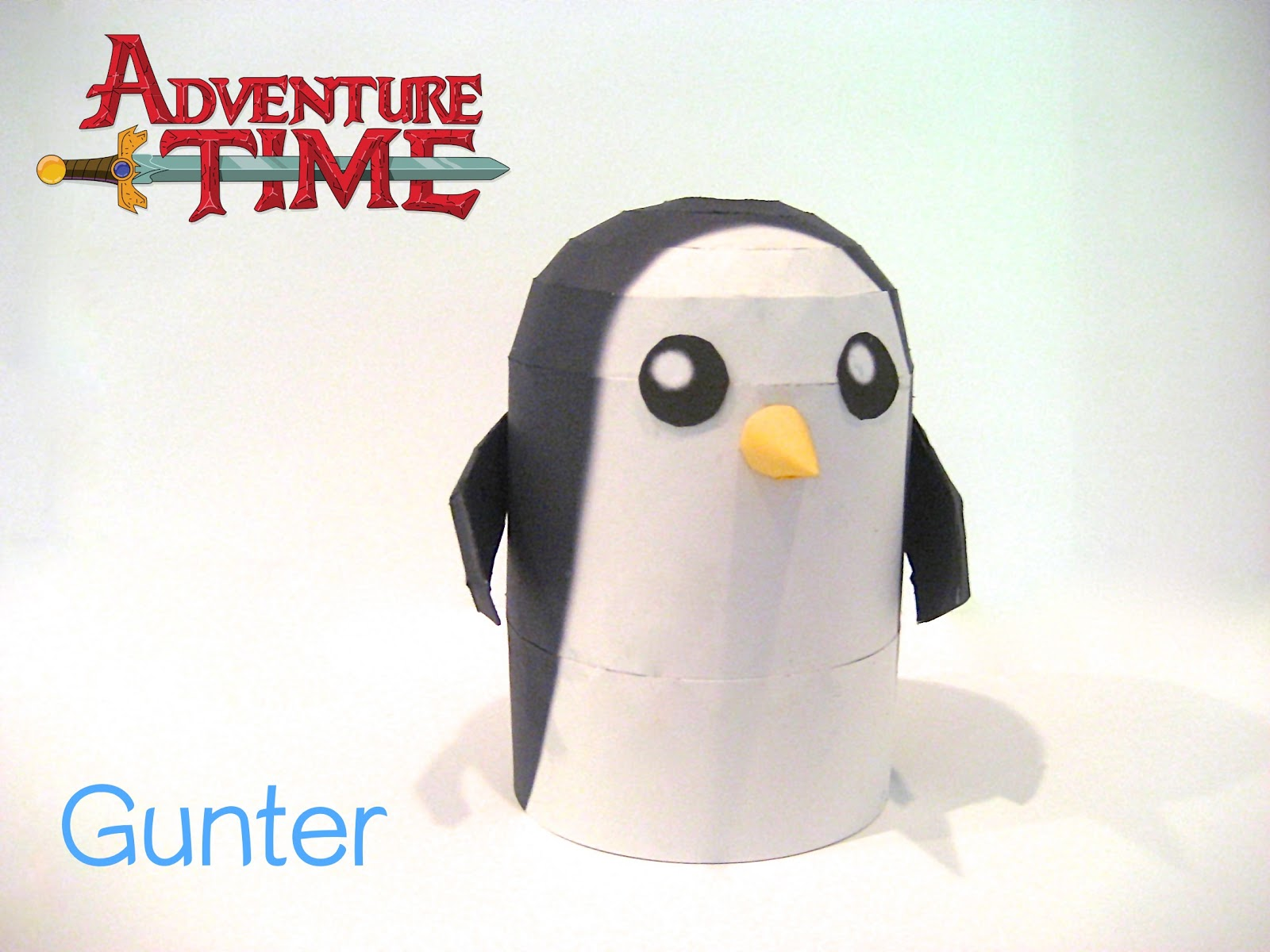 Adventure Time Gunter Papercraft
