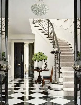 Return to home the black and white checkered floor for Black and white check floor