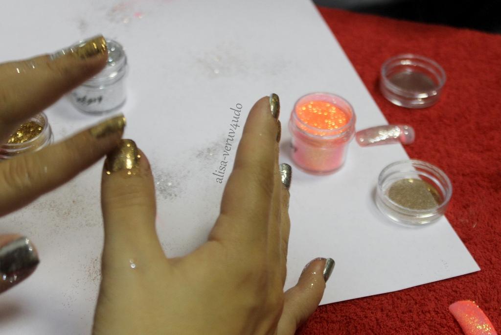 Затирка в маникюре как делать