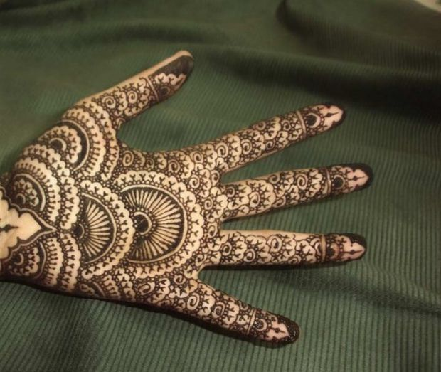 Cool Mehndi Patterns : Fashionstyleonsundays