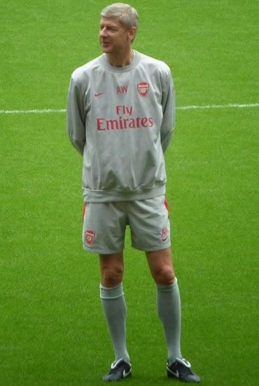 Arsene Wenger Arsenal vs Chelsea 2013