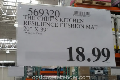 Deal for The Chef's Kitchen Resilience Cushion Mat at Costco