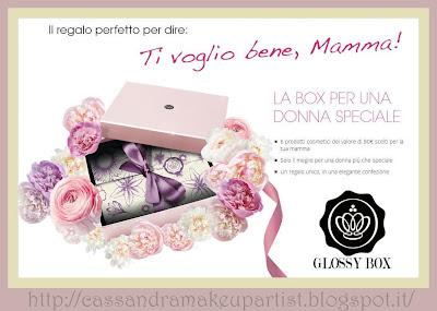 Glossy Box - Ti voglio bene, mamma - Maggio 2013