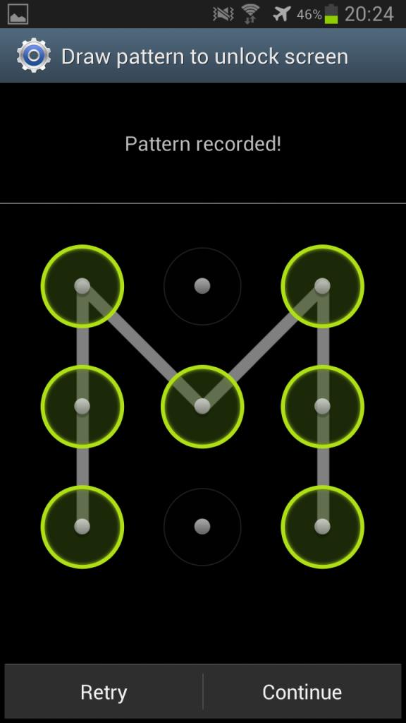 Как разблокировать рисунок на телефоне леново
