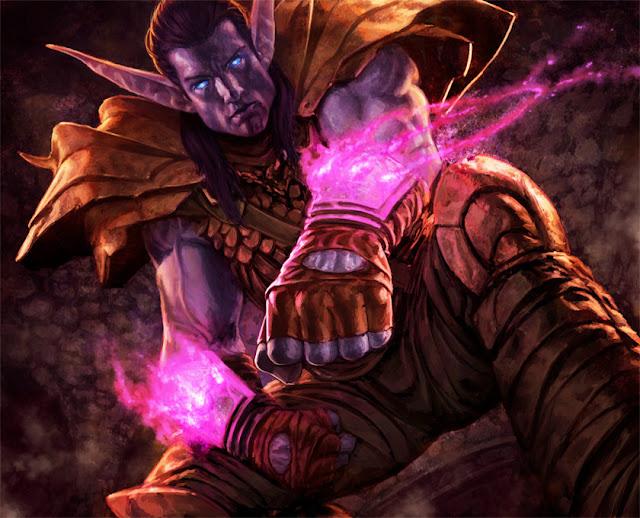 World of Warcraft - Night Elf por reau