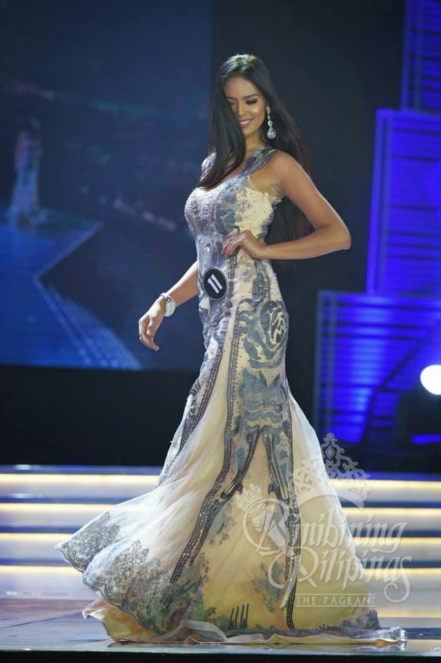 Janicel Lubina wins Best in Long Gown
